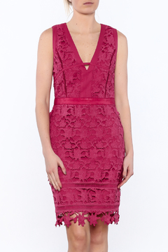 Adelyn Rae Lace Sheath Dress - Product List Image
