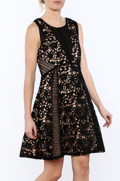 Adelyn Rae Loretta Lace Dress - Product List Image