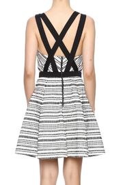 Shoptiques Product: Strappy Woven Dress - Back cropped