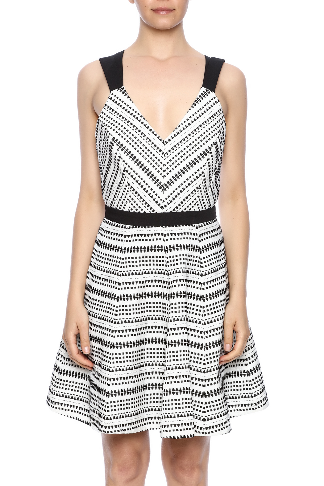 Strappy Woven Dress