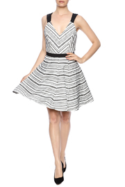 Shoptiques Product: Strappy Woven Dress - Front full body