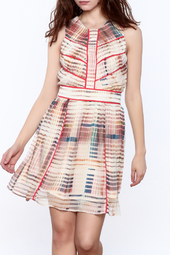 Shoptiques Product: Striped A-Line Dress