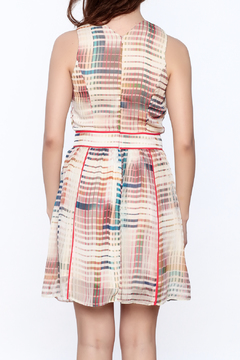 Adelyn Rae Striped A-Line Dress - Alternate List Image
