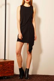 Adelyn Rae Black Sheath Dress - Product Mini Image