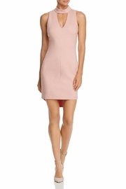 Adelyn Rae Blush Keyhole Dress - Front cropped