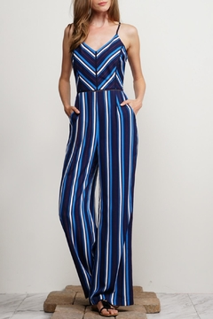 Shoptiques Product: Cynthia Striped Jumpsuit
