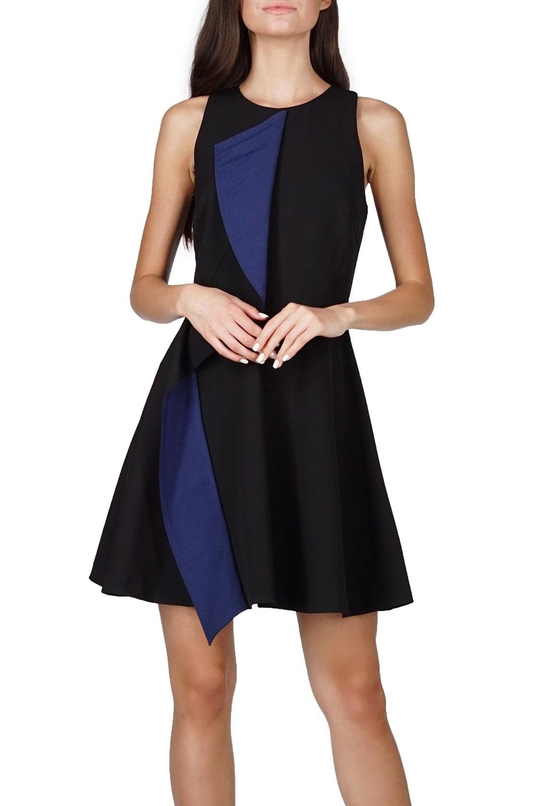 Adelyn Rae Fit Flare Dress - Main Image