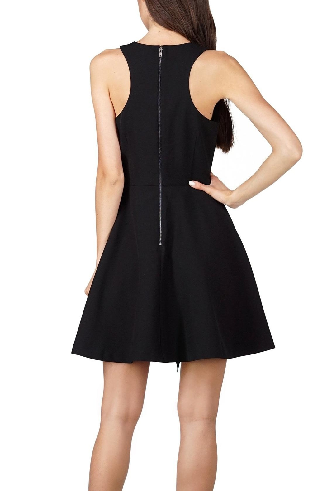 Adelyn Rae Fit Flare Dress - Front Full Image