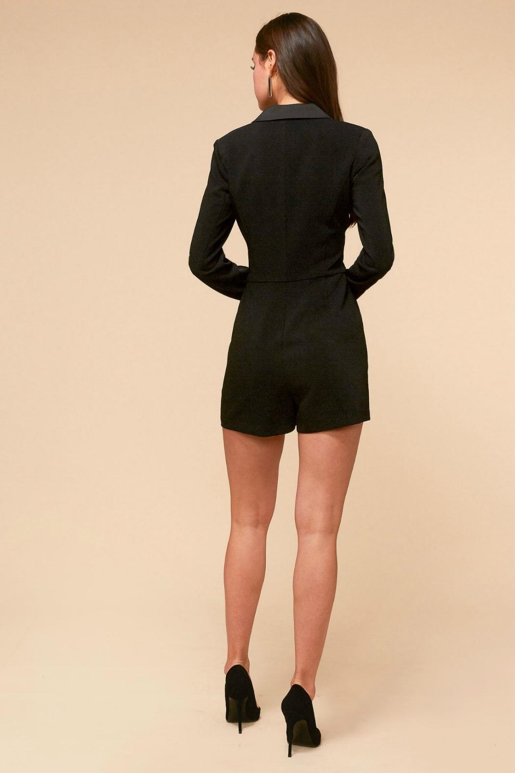 Adelyn Rae Grayson Suit Romper - Front Full Image