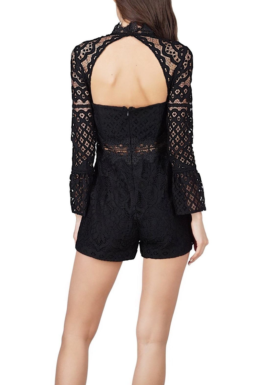Adelyn Rae Lace Romper - Front Full Image