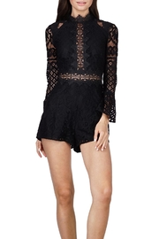 Adelyn Rae Lace Romper - Product Mini Image