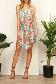 Adelyn Rae Mallory Printed Dress - Front cropped