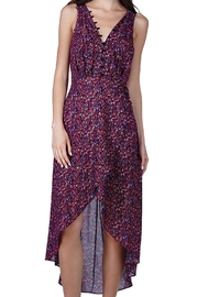 Adelyn Rae Print Hi-Low Dress - Front cropped