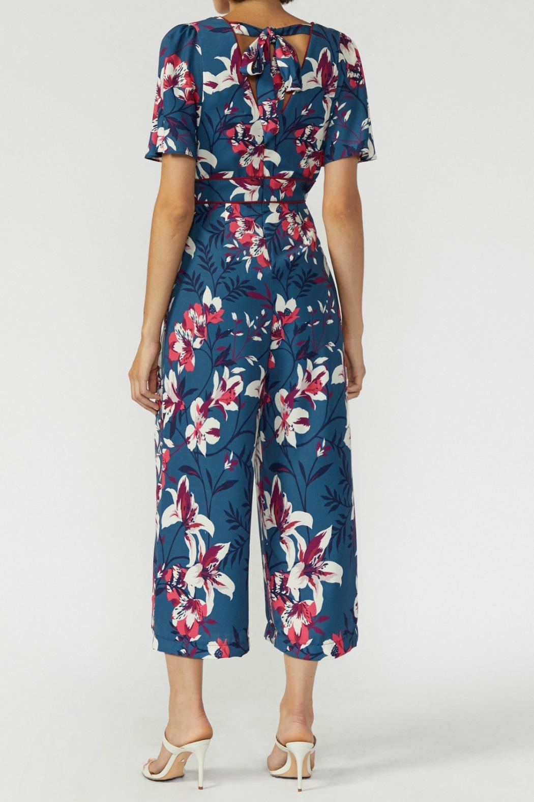 Adelyn Rae Shayne Jumpsuit - Side Cropped Image