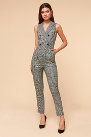 Adelyn Rae Toni Tuxedo Jumpsuit - Product Mini Image