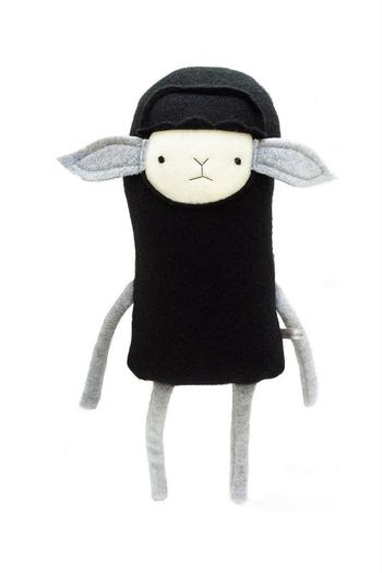 Finkelsteins Plush Black Sheep From California By A Mother S Haven