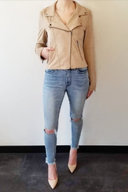 Gentle Fawn Adera Suede Moto Jacket - Front full body