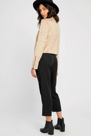 Gentle Fawn Adera Suede Moto Jacket - Other