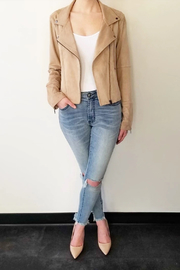 Gentle Fawn Adera Suede Moto Jacket - Product Mini Image