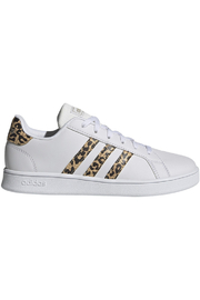 adidas Adidas Girls Grand Court K In Future White/ Champagne Metal - Product Mini Image