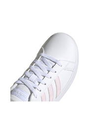 adidas Adidas Kids Grand Court in Future White/Clear Pink/Halo Blue - Other