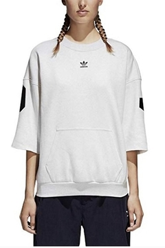 adidas Adidas Short Sleeve Logo Sweatshirt - Product List Image