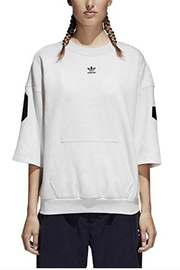 adidas Adidas Short Sleeve Logo Sweatshirt - Product Mini Image