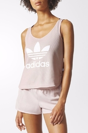 adidas Trefoil Crop Tank Top - Front cropped