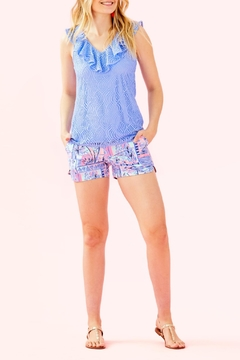 Lilly Pulitzer Adie Ruffle-Pocket Short - Alternate List Image