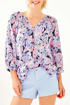 Lilly Pulitzer Adie Stretch Short - Product List Image
