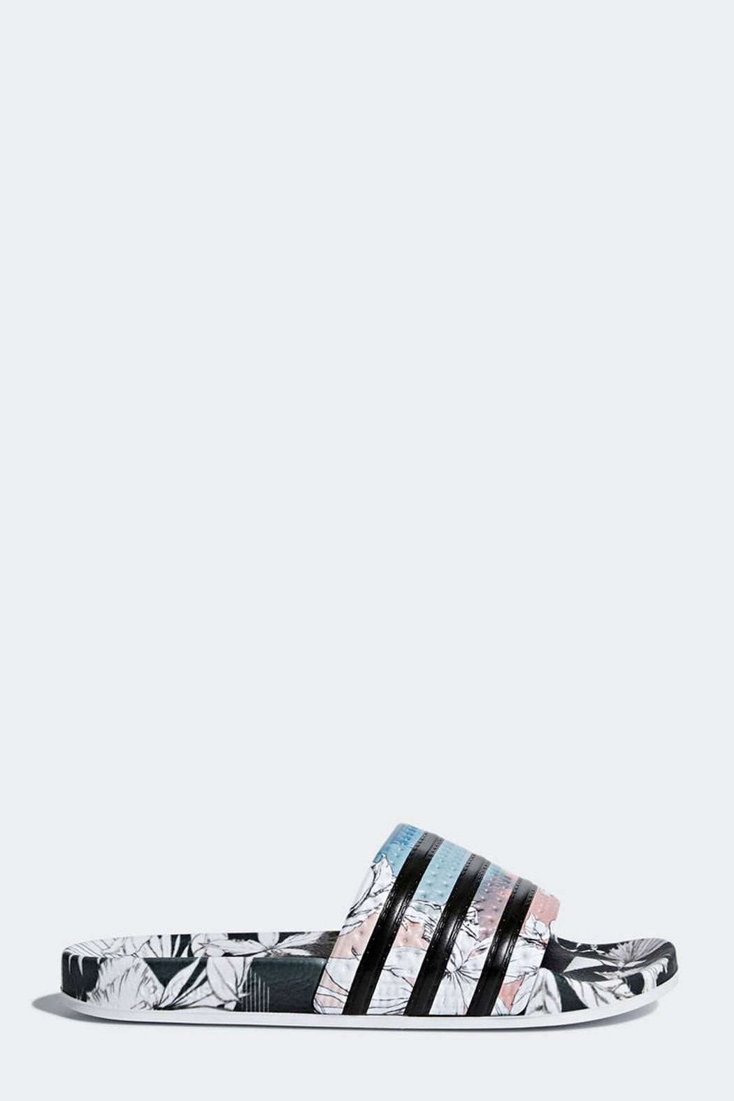 adidas Adilette Slides - Side Cropped Image