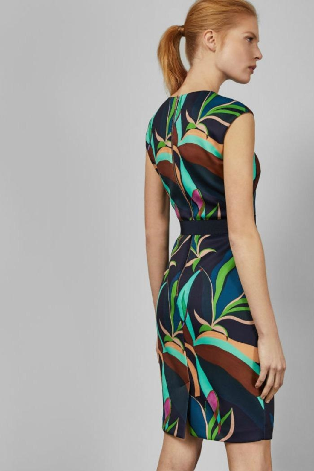 Ted Baker Adilyyn Bodycon Dress - Back Cropped Image