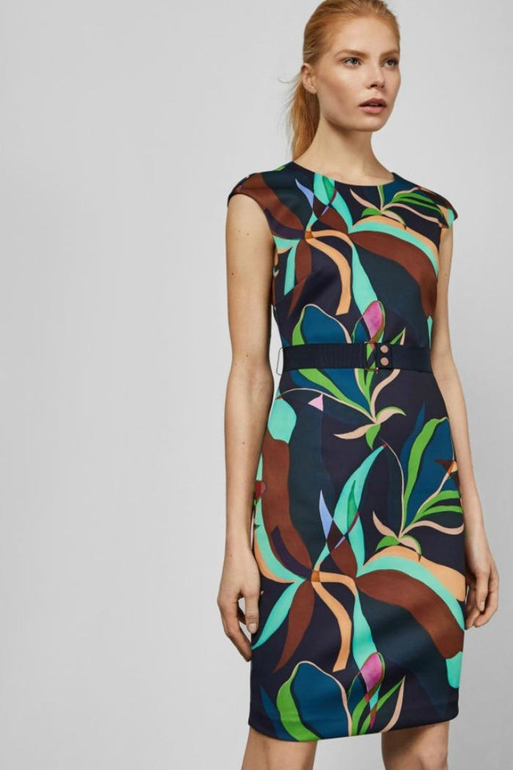 Ted Baker Adilyyn Bodycon Dress - Front Cropped Image