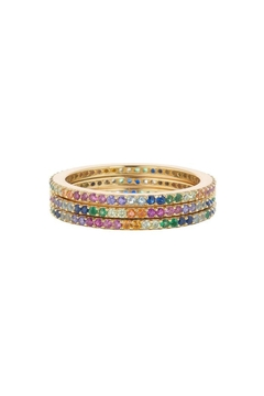 Shoptiques Product: Rainbow Stack Rings