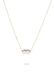 Adina Reyter Single Baguette Necklace - Product Mini Image