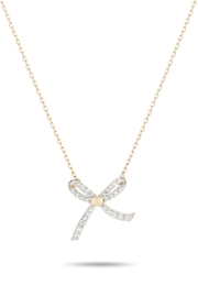 Adina Reyter Tiny-Pave Bow Necklace - Product Mini Image