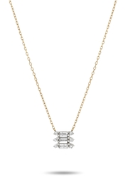 Adina Reyter Triple-Stack Baguette Necklace - Product Mini Image