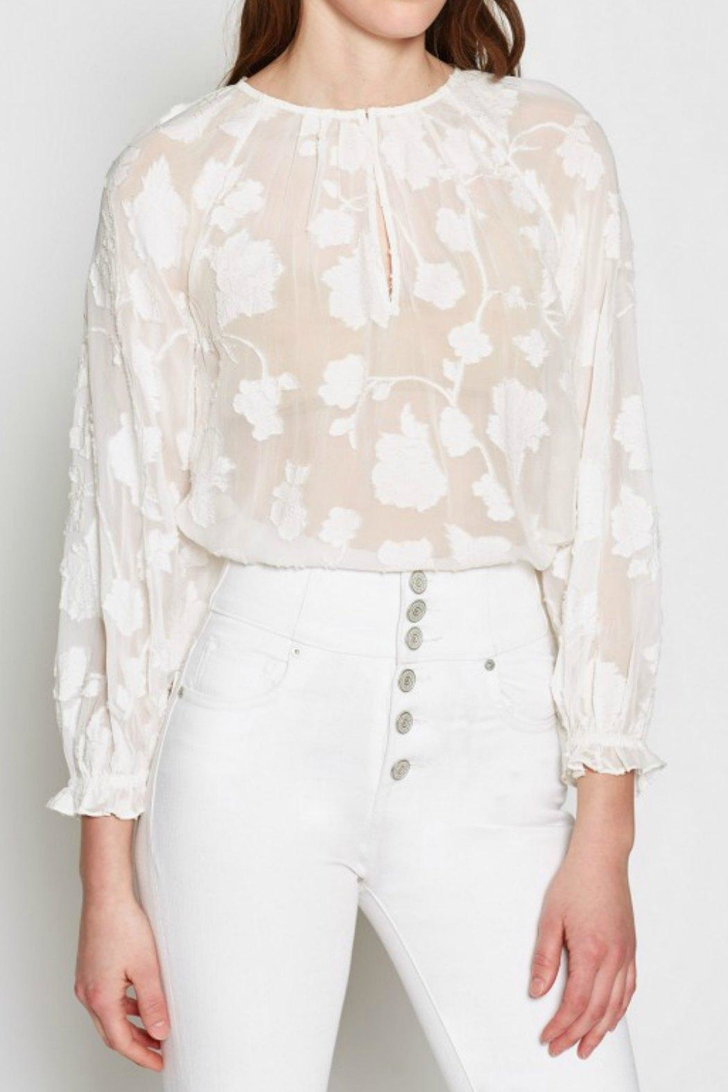Joie Adison Long-Sleeve Blouse - Front Cropped Image
