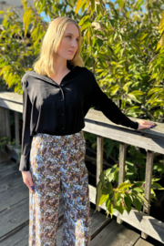 FRNCH Adixia Floral Pants - Front full body