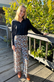 FRNCH Adixia Floral Pants - Front cropped