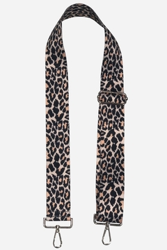 Ahdorned Adjustable Cheetah Print Bag Strap - Alternate List Image