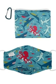 Stephen Joseph Adjustable Filter Pocket Mask With Zipper Pouch - Product Mini Image