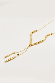 Gorjana Adjustable Gold Necklace - Product Mini Image