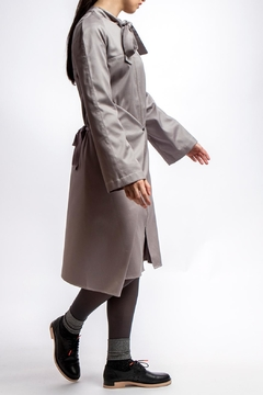 Clara Kaesdorf Adjustable Grey Summer-Coat - Alternate List Image