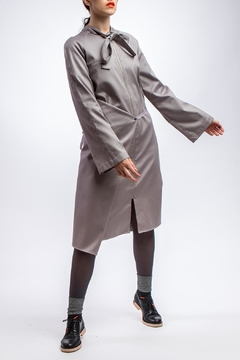 Clara Kaesdorf Adjustable Grey Summer-Coat - Product List Image