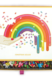 Chronicle Books Adler Rainbow Hand Puzzle - Front full body