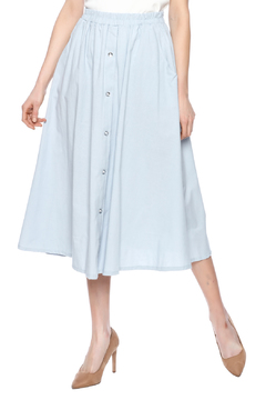 Shoptiques Product: Cotton A-Line Maxi Skirt