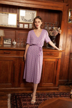 FRNCH Adolpha Midi Dress - Product List Image