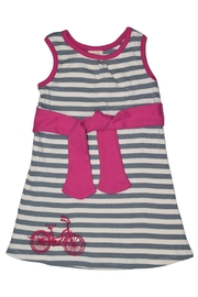 Adooka Organics Bicycle Tie Dress - Front cropped
