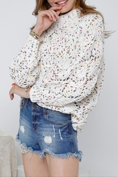 Shoptiques Product: Color Flecked Sweater